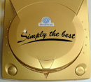 Airbrush Dreamcast ind Gold