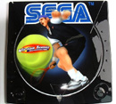 Airbrush Dreamcast zum Titel virtual tennis