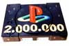 airbrush Playstation die 2 millionste Playstation in Deutschland