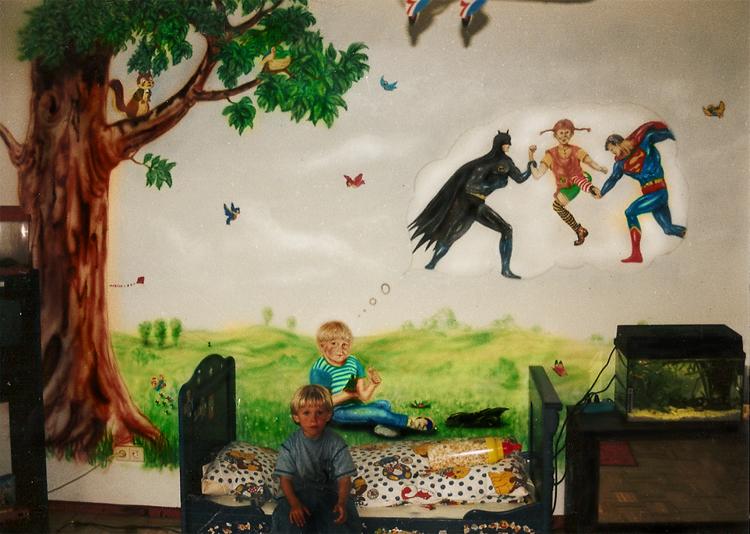 Airbrush wandgestaltung und airbrush wandbemalungen fassaden grafitti wanddekorationen im - Wandmalerei ideen ...