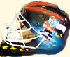 Airbrush Eishockey helm berlin capitals