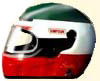 Karthelm Airbrush Design helm italien