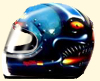 helm airbrush monster
