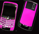airbrush handy Blackberry pink und ornamente
